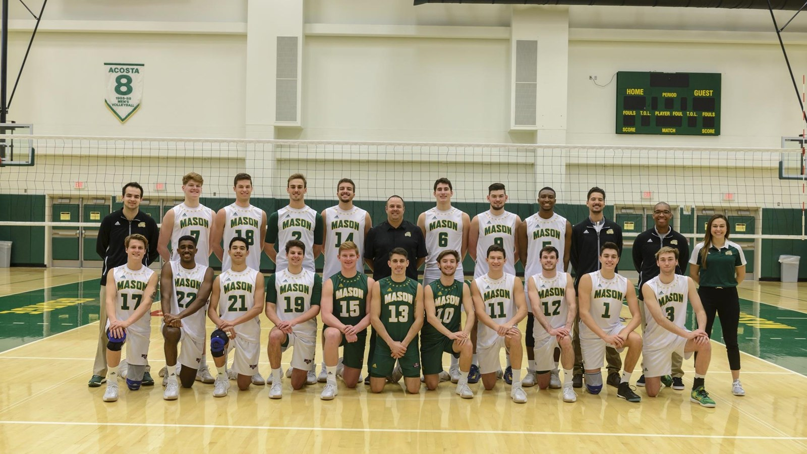2018 men s volleyball roster george mason university athletics