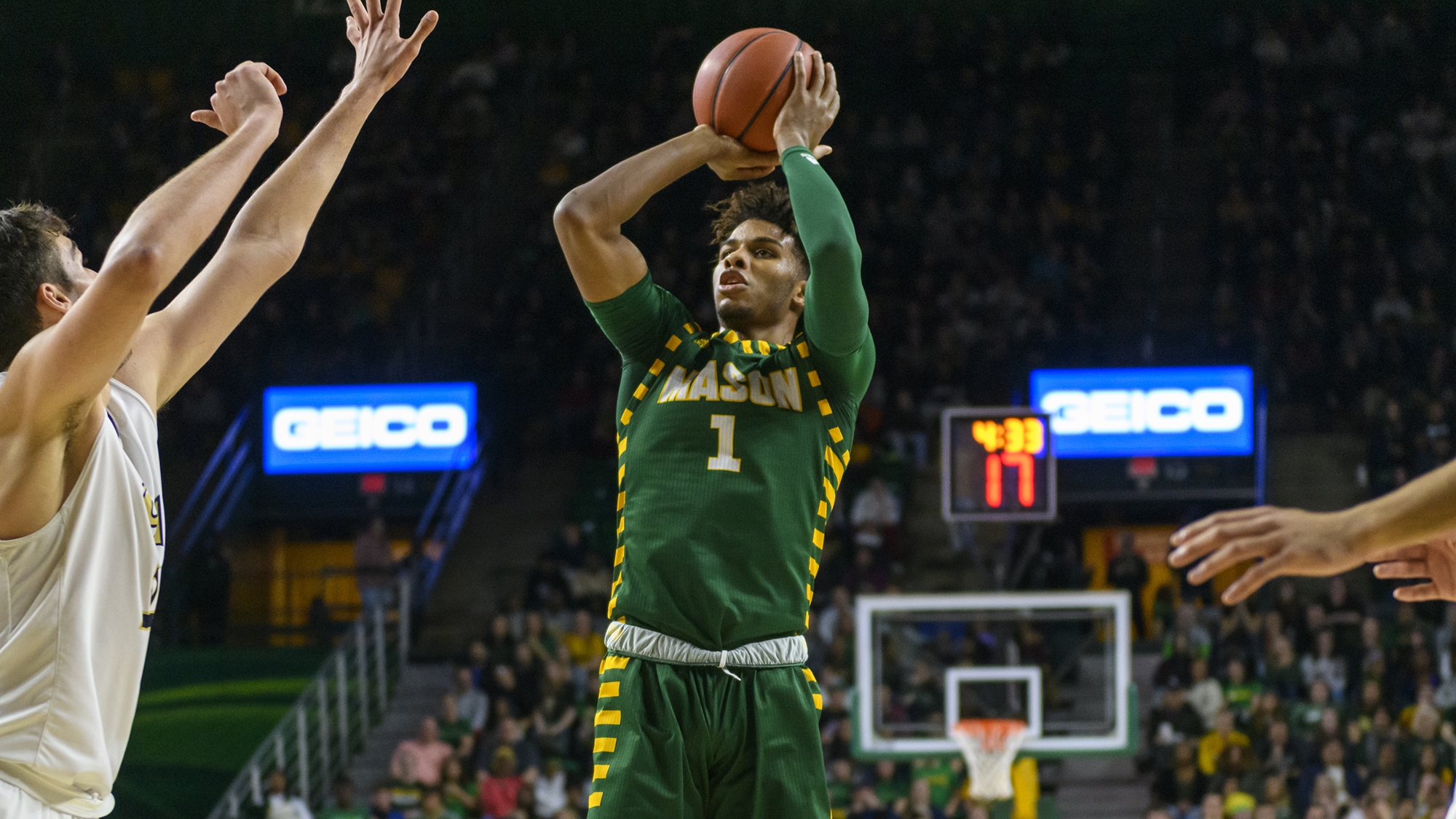 Ryan Pearson Named CAA Men's Basketball Player of the Year - George