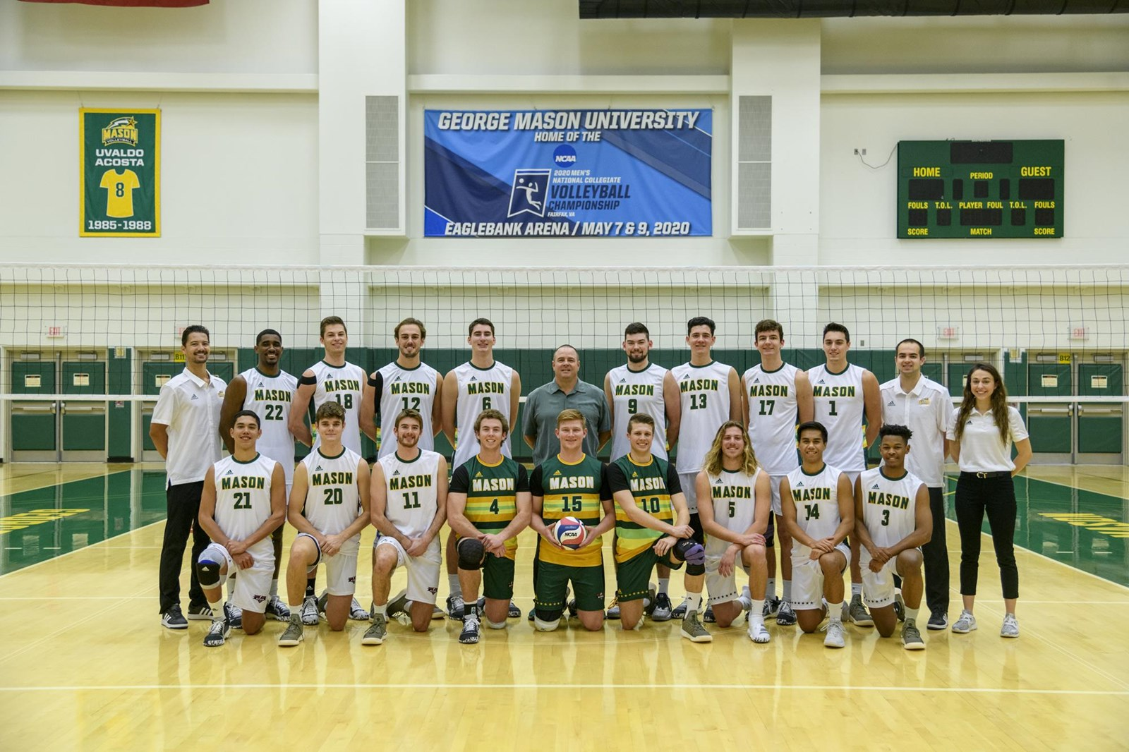 2020 Men S Volleyball Roster George Mason University Athletics